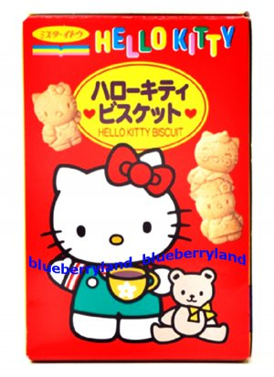 Japan Hello Kitty Children Biscuits Snack Biscuit 80g
