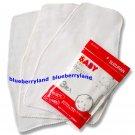 Japan Baby Sweat Cloth 3 Pcs Pad Back Sweat absorbent Towel
