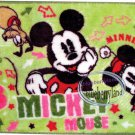 Disney MICKEY MOUSE MAT Bathroom Door Kitchen carpet rug Green