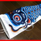 Classic Japanese KOI CARP FISH windsock kite / Nylon with Wire Mouth