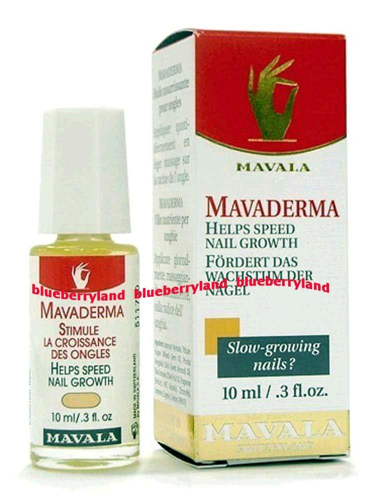 Nail Care Mavala Mavaderma Nail Growth Treatment 10ml ...