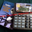 Disney Tim Burton's The Nightmare Before Christmas Electronic Desktop Calculator stationery women