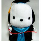 "Sanrio Pochacco PC Dog 13"" Tall Plush Doll figure figurine Graduation GIFT school university girls"