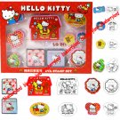 Sanrio HELLO KITTY 8 pieces EVA Stamp with ink pads sets