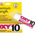OXY 10 Acne Medication Face Clear Pimple Treatment Vanishing Cream 25g Regular Strength