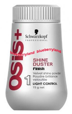 Schwarzkopf Osis Shine Duster Velvet Shine Powder Light Control 15g Hair Styling care