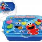 Sesame Street ELMO Bento Lunch Box Food Container case BLUE