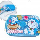 Doraemon Bento Lunch Box Food Container case BLUE