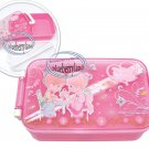 Precious Moments Bento Lunch Box Food Container case Pink