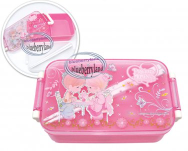 precious moments bento lunch box food container case pink. Black Bedroom Furniture Sets. Home Design Ideas