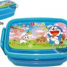 Doraemon Bento Lunch Box Food Container lunchbox kitchen ladies BlueQ2