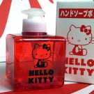 Sanrio Hello Kitty Hand Soap with Dispenser Bottle ~ Red