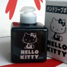 Sanrio Hello Kitty Hand Soap with Dispenser Bottle ~ black