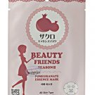 BEAUTY FRIENDS SEASON 2 Pomegranate Essence Facial Mask Sheet  Korea