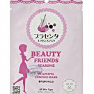 BEAUTY FRIENDS SEASON 2 Placenta Essence Facial Mask Sheet  Korea