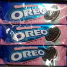 Oreo Strawberry cream flavor Sandwich cookie Biscuit packs