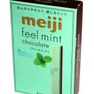 Japan Meiji Feel Mint Chocolate Stick 36g snack sweet girls kids