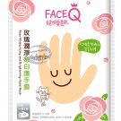 Face Q Rose Moisturizing and Brightening HAND Mask Skin care beauty ladies 2 Pcs