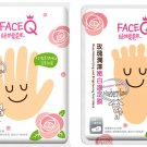 Face Q Rose Moisturizing and Brightening HAND & FOOT Mask Skin care beauty ladies