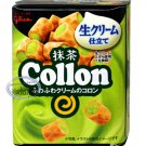 JAPAN Glico Collon Matcha Green Tea Cream flavor Biscuit Rolls snack sweets candy