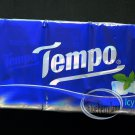 10 Packs TEMPO Pocket Tissue Paper packs sets Ice Menthol