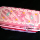 Japan Bento 2-Tier Lunch Box Set Belt fork spoon chopsticks kitchen lunchbox P