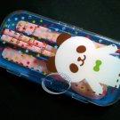 PANDA Cutlery set Fork Spoon Chopstick case sets bento lunchbox accessories