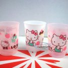 3 Pcs Sanrio Hello Kitty Plastic Cups Drinking Mug / Cup Kids parties