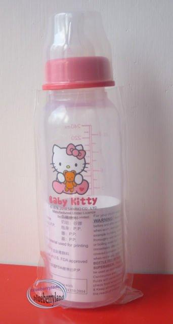 Sanrio HELLO KITTY Baby bottle 240ml milk juices BPA free