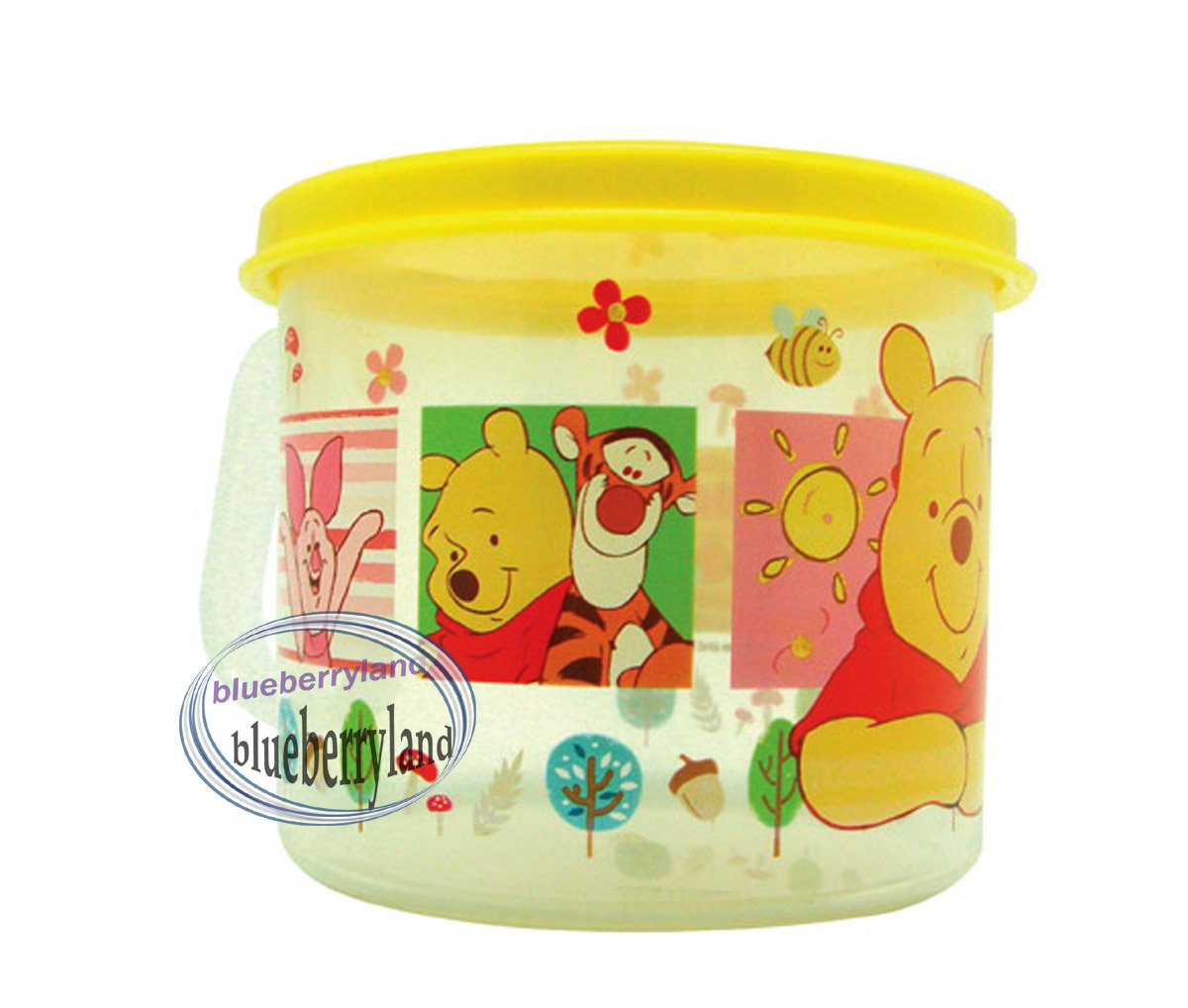 Disney Winnie the Pooh Plastic Cup mug 250ml kids child Q4