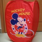 Disney MICKEY MOUSE Laundry BIN BAG Basket PopUp Storage