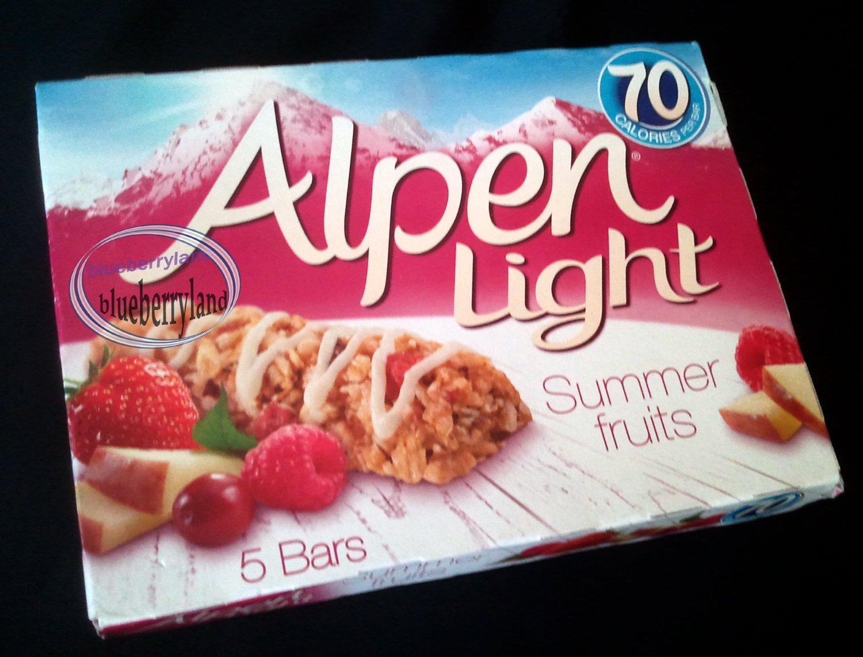 Alpen Light Bars Mixed Cereal Bar SUMMER FRUITS flavor