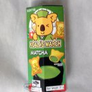 Lotte Koala's March Matcha Green Tea flavor Chocolate snack sweets ladies kid