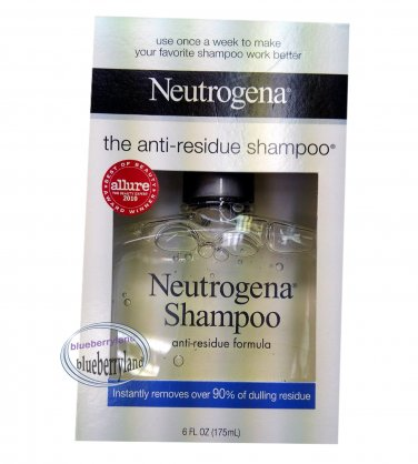 Neutrogena Hair Shampoo Anti-Residue Formula 175ml / 6 oz