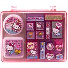 Sanrio HELLO KITTY 14 pieces EVA Stamp with ink pads sets