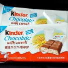 2 Packs Ferreo Kinder Country Cereals Milk Chocolate Bars 8 Pcs sweet candy snack