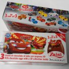 Zaini Disney Cars Neon Chocolate Surprise 3 Eggs With Toy Figure Inside