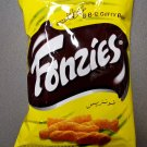 Fonzies BBQ Curry Flavour Corn Chips Crispy Fried Snack 70g