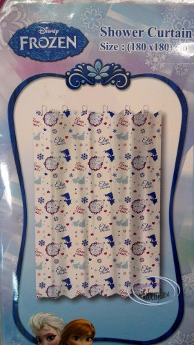 Disney FROZEN SHOWER CURTAIN Bathroom Accessories Household