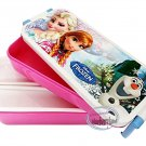 Disney FROZEN Elsa Anna 2 Tiered Bento Lunchbox with Chopsticks Food Container lunch box set