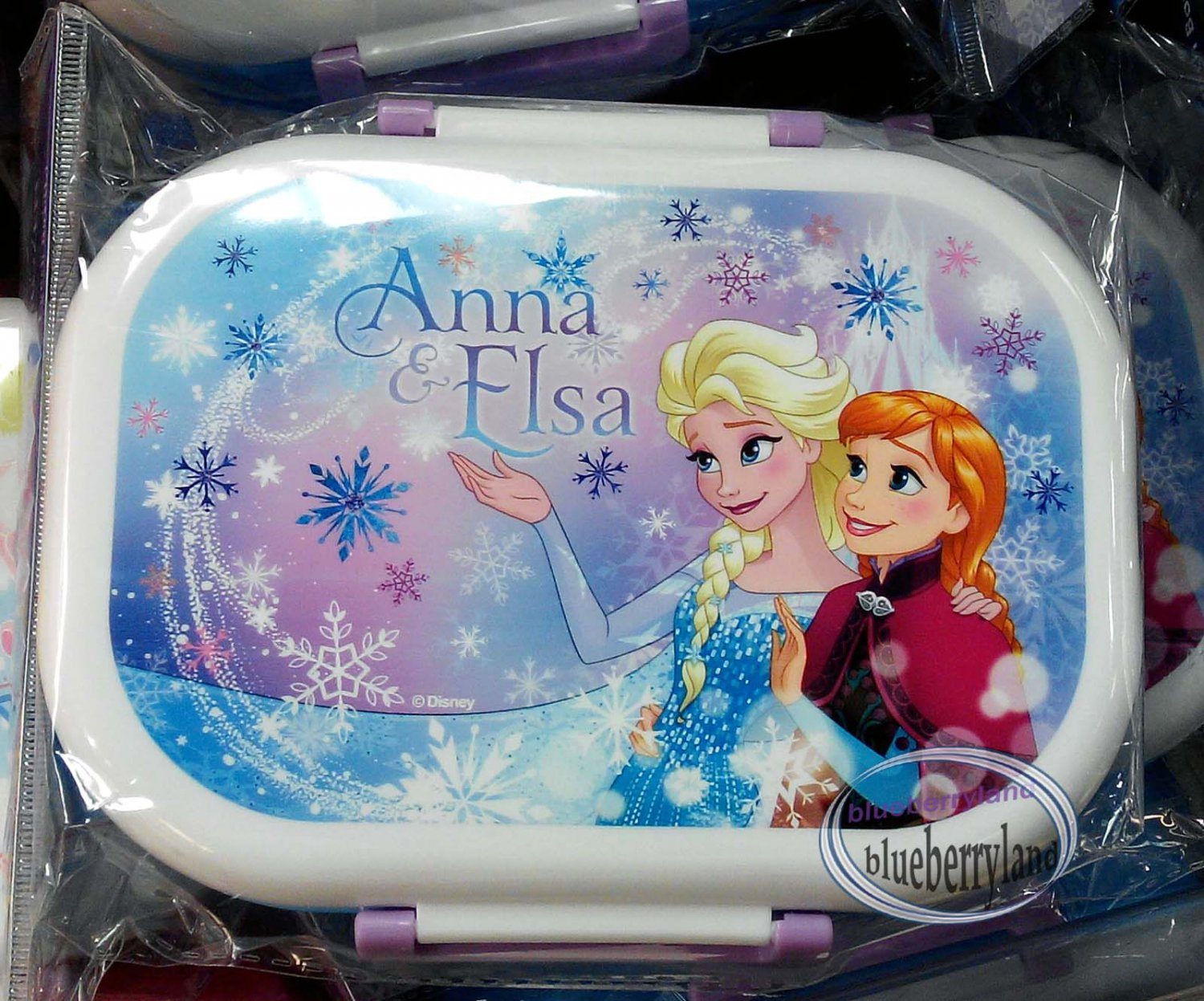 Disney Frozen Microwave Bento Lunchbox Food Container
