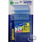 30 pcs Japan Lion Clinica Triple String Dental Floss Stick