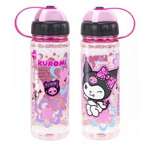 Sanrio Kuromi Water Juice Bottle BPA Free drinkware container 450ml ladies girls