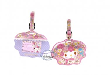 Sanrio My Melody Luggage Name Tag holder Travel school bag Tags Q5