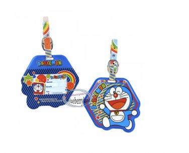 Doraemon Luggage Name Tag holder Travel school bag Tags Q5