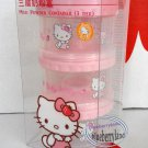 Sanrio HELLO KITTY Baby Milk Powder Formular Container Dispenser cases set