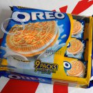 Oreo Golden Oreo Vanilla cream flavor Sandwich cookie Biscuit packs