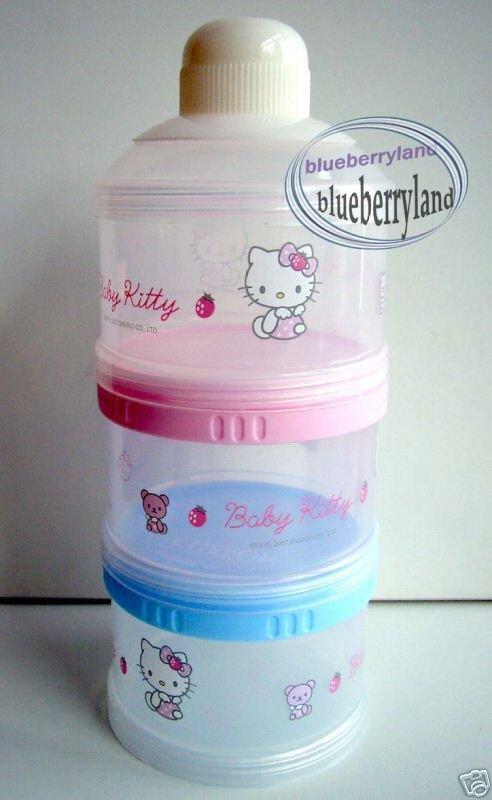 Sanrio HELLO KITTY Baby Milk Powder Dispenser Container