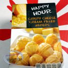 Happy Hour Crispy Cheese cream filled wafers snacks Crackers ladies kids Puff pastry