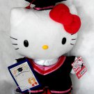 "Sanrio Hello Kitty 12"" Tall Plush Doll figure figurine Graduation GIFT school university girls Q15"